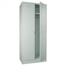 Шкаф металлический 2-х створчатый