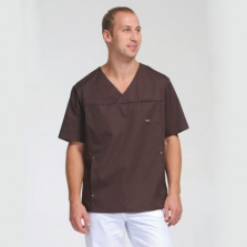 Блуза мужская ШОКОЛАД