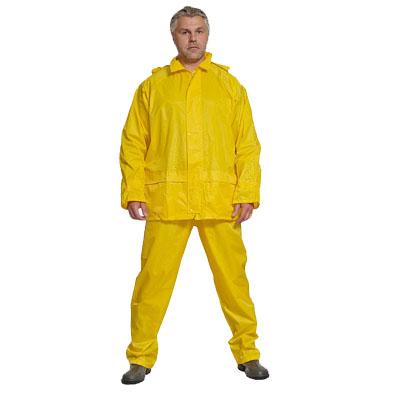 Фото Костюм влагозащитный желтый