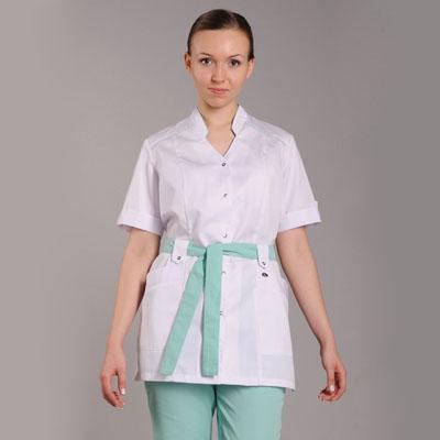 Фото Блуза медицинская женская Ландыш